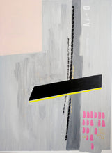 "Load image into Gallery viewer, ""Neo Pink"" Acrylic on Canvas"