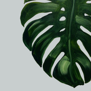 """Monstera"" Acrylic on Canvas"