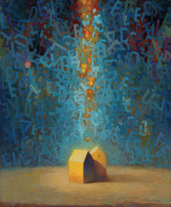 """Paths to Love 3"" Oil on Canvas"