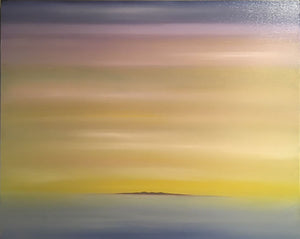 """Soft Yellow Morning"" Oil on Canvas"