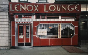 """Lenox Lounge"" Acrylic on Board"