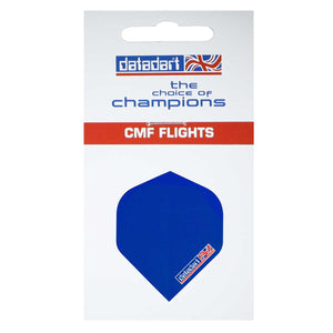 Datadart CMF-02 Plain Blue Standard Shape Flights - 100 Micron