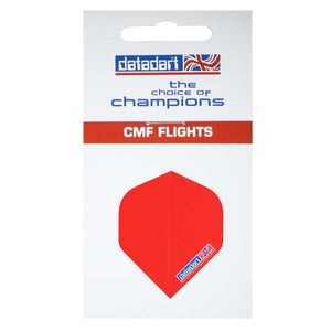 Datadart CMF-04 Plain Red Standard Shape Flights - 100 Micron