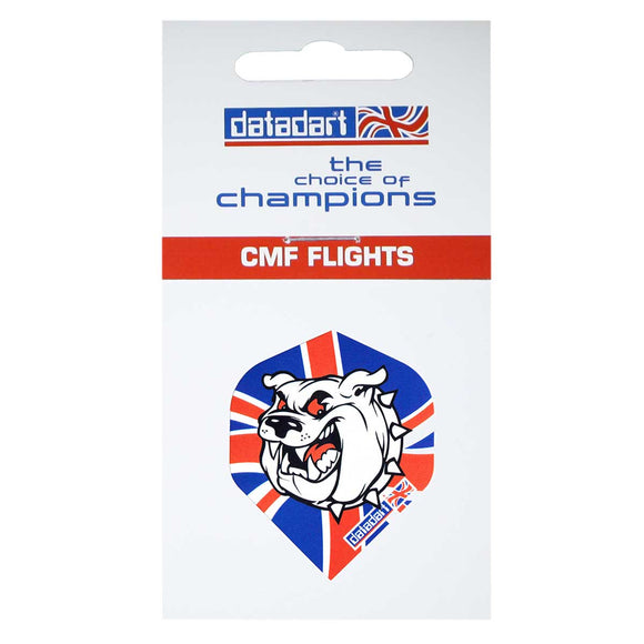 Datadart CMF-06 British Bulldog Standard Shape Flights - 100 Micron