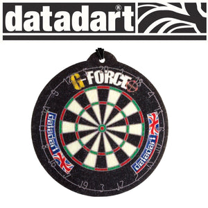Datadart Dartboard Design Hang Card Air Freshener