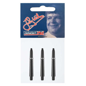 Datadart Jocky Wilson Dart Shafts - Short Black 35mm