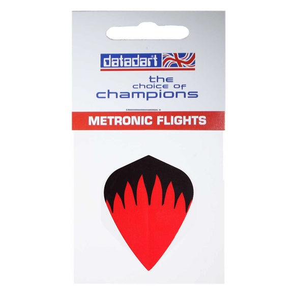 Datadart Red Flame M-014 Kite Shape Metronic Flights