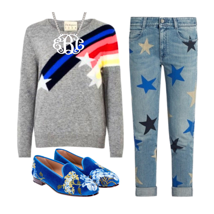 Stars and Cashmere for Winter Style