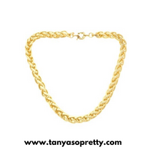 Load image into Gallery viewer, tanya-sopretty - Oxford Braided Link Necklace - Necklace