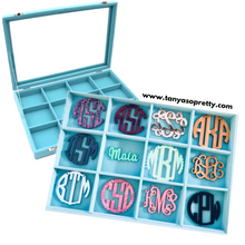 Load image into Gallery viewer, Holly Jolly Monogram Necklace Jewelry Box