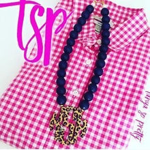 Load image into Gallery viewer, Your Custom Preppy Monogram Necklace Gift Ideas 3.2""