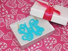 Load image into Gallery viewer, Leigh Caribbean Monogram Necklaces