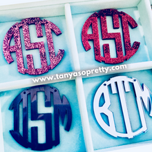 Load image into Gallery viewer, Your Custom Preppy Monogram Necklace Gift Ideas 3.4""