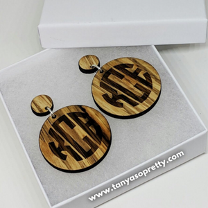 Bailey Bamboo Earrings