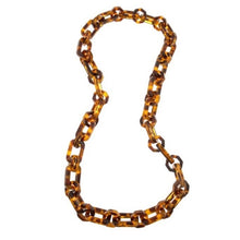 Load image into Gallery viewer, Tizzy Tortoise Chain Link Necklace