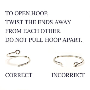 Simple-hoop-earrings
