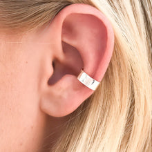 Load image into Gallery viewer, Sterling-Silver-ear-cuff
