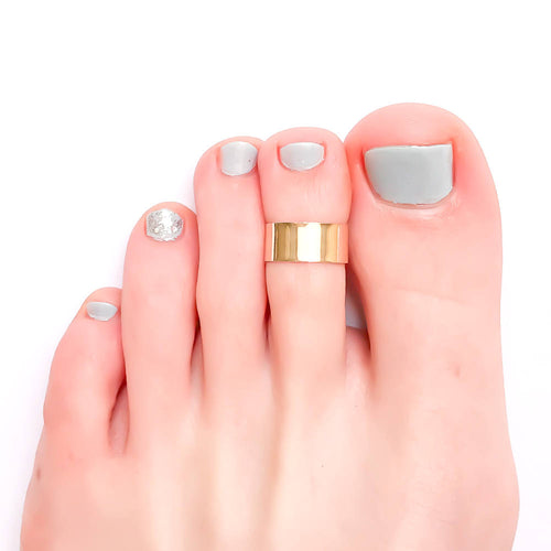 Thick Band Toe Ring