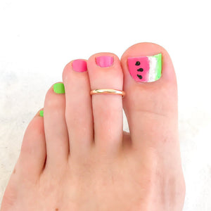 Minimalist Toe Ring