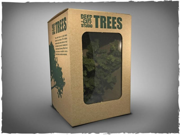 Deep Cut Model Trees-  15 mm Scale