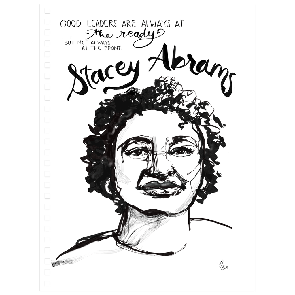 """Stacey Leads"" // Spiral Notebook"