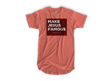 Load image into Gallery viewer, Make Jesus Famous (Salmon & Maroon)
