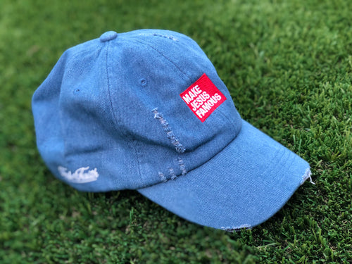 Denim MJF Dad Hat