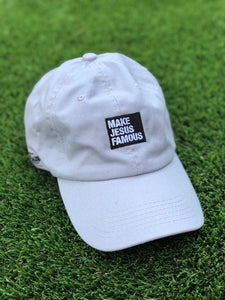 Light Grey MJF Dad Hat
