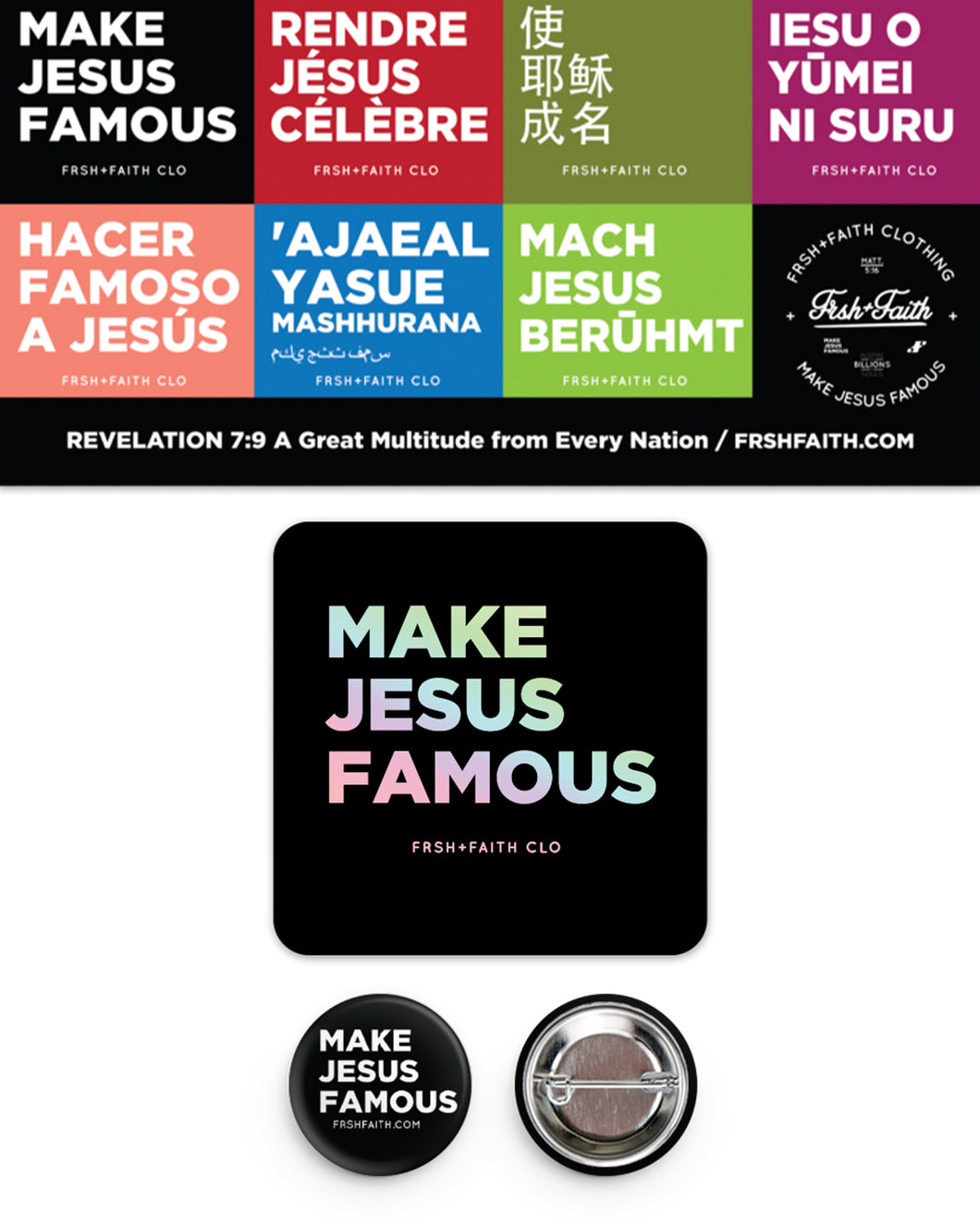 MJF Sticker & Button Pack