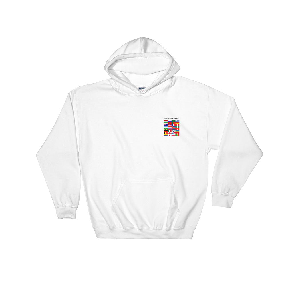 HOWLER GROUP STAGE WHITE HOODIE