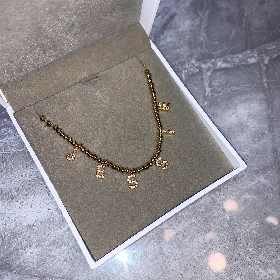 Aazhia Personalised Necklace (Gold) *PRE ORDER*