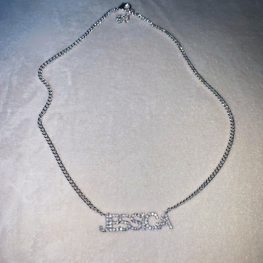 Amalia Personalised Necklace (Silver) *Pre Order*