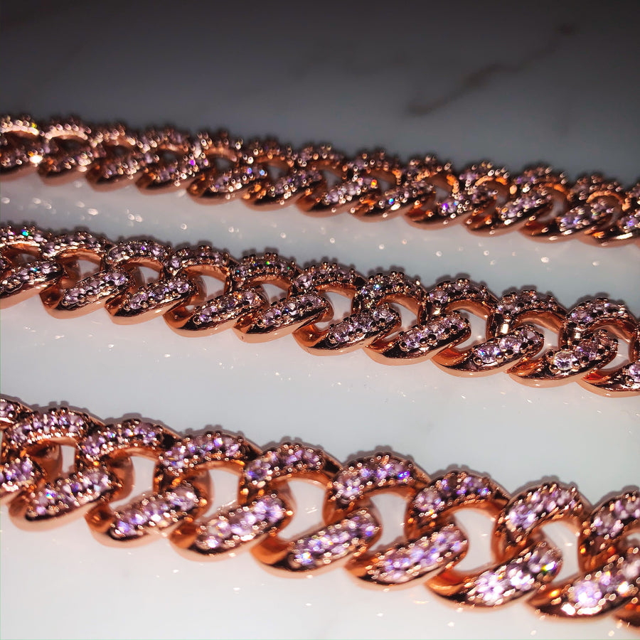 Cotton Candy Cuban Link Chain *Pre Order*