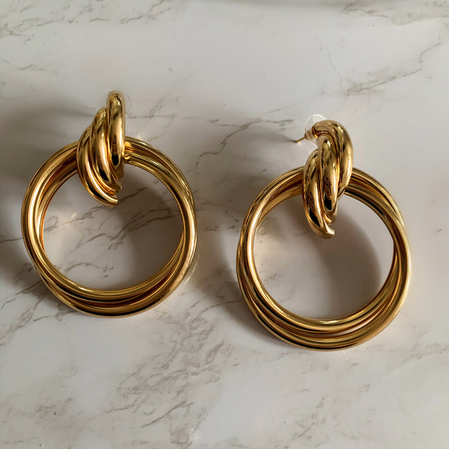Dolce Earrings (Gold)