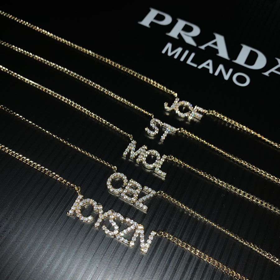 Amalia Personalised Necklace (Gold) *Pre Order*