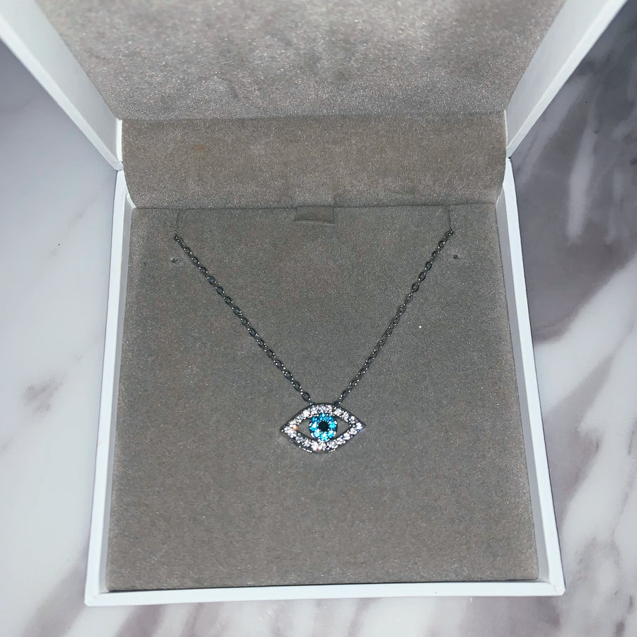 Iris Necklace (Silver)