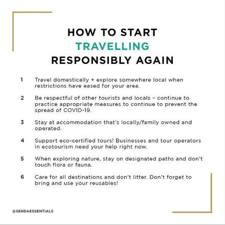 How To Start Travelling Responsible Again