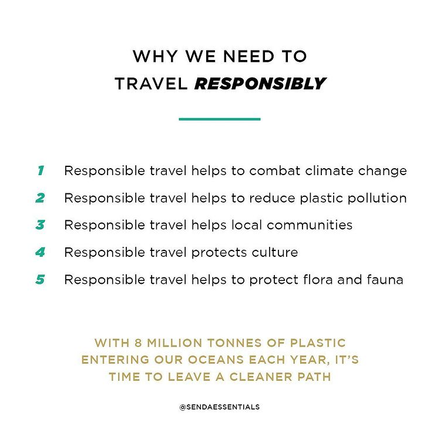 Why We Need To Travel Responsibly