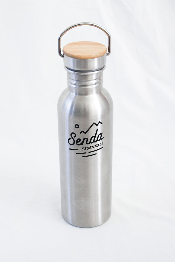 800ML STAINLESS BOTTLE aluminium bottle stainless steel bottle plastic bottle  - Senda Essentials
