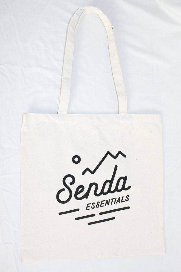 ORGANIC COTTON TOTE BAG - Senda Essentials reusable bag plastic bag