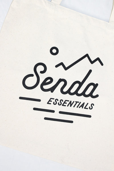 COTTON TOTE BAG - Senda Essentials reusable bag plastic bag