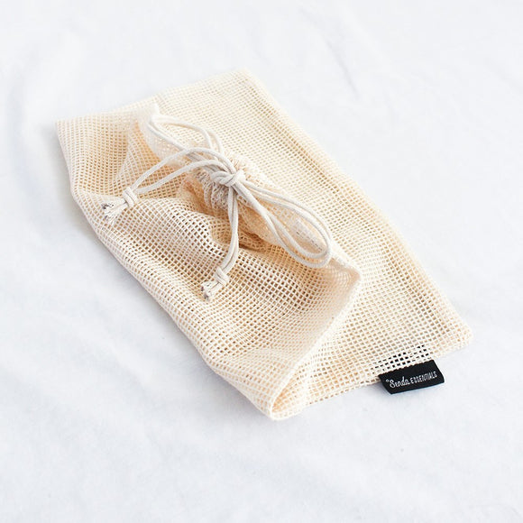 Cotton Mesh Bags 4 pack
