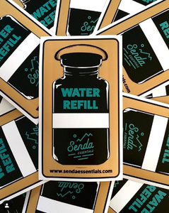Water Refill Sticker