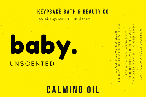 Unscented - Baby Calming Oil