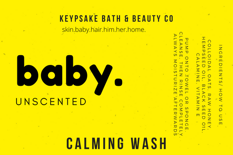 Unscented - Baby Calming Wash