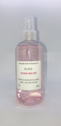 Rose Water Refreshing Toning Spray