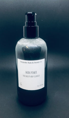 Man Power Face & Body Cleanser