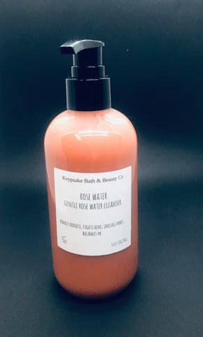 Rose Water Gentle Face & Body Cleanser