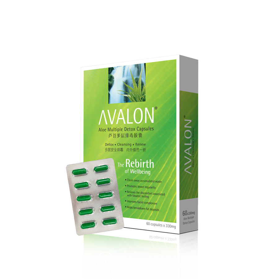AVALON® ALOE MULTIPLE DETOX (W/ 3 BILLION CFUS PROBIOTICS)