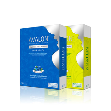 AVALON® JAPANESE FISH COLLAGEN (CRYSTALPURE™ COLLAGEN + VIT C + PROBIOTICS)